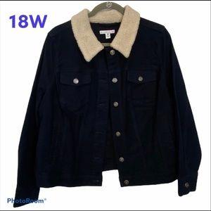Black Jean Jacket Isaac Mizrahi Live Collection 18